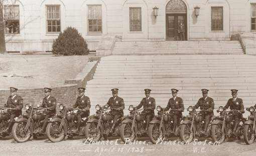Police Motorcycles 1928