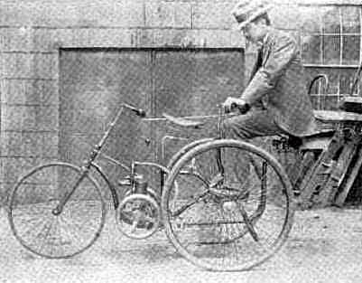 1896 Hiram Percy Three Wheeler