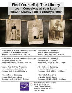 Genealogy Programs 2015