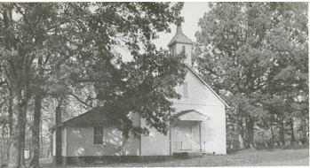 Oak Grove United Methodist Church built in 1900…burned down a number of years ago by vandals.