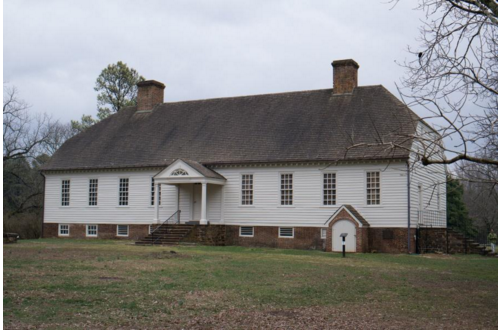 Figure 2 Scotchtown Plantation in Hanover County, Virginia. Was this the one-time home of Benjamin Forsyth? Source from Virginia Foundation for the Humanities.