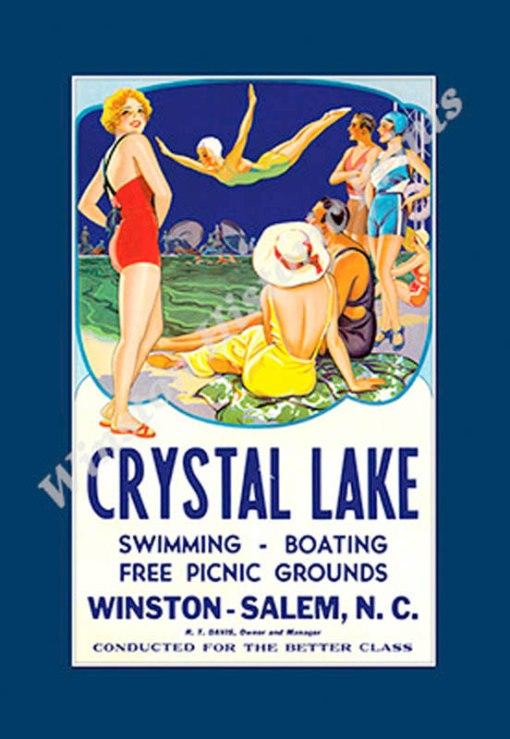 crystallakeposter