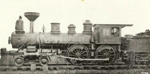 The first Roanoke & Southern locomotive