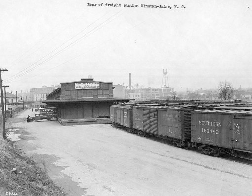 Joint N & W and WSSB freight depot