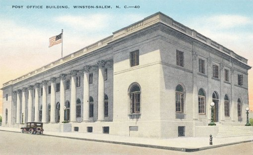The 1906/1915 post office and federal building