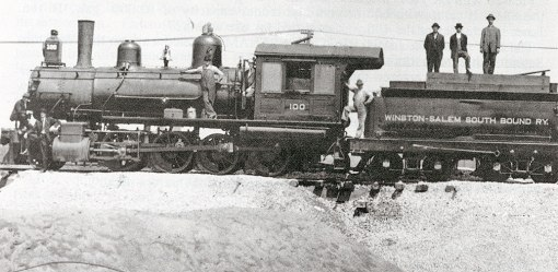 WSSB construction train, 1910