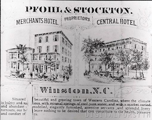 Pfohl & Stockton flyer, 1880s