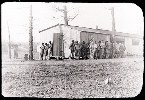 Forsyth County convict camp...Forsyth County Public Library Picture Collection