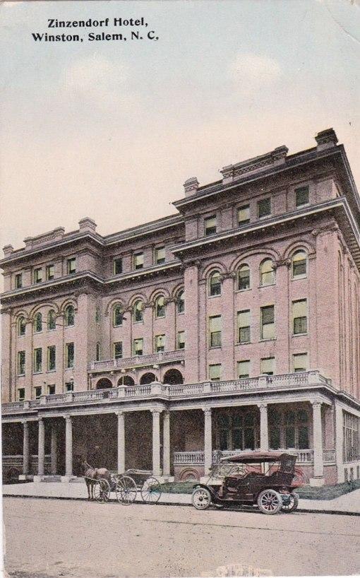Zinzendorf Hotel, 1906...