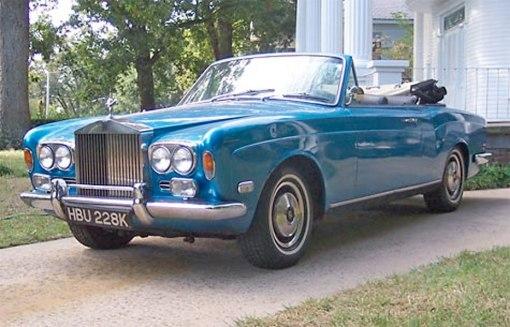 1971 Rolls Royce Silver Shadow Cornich convertible