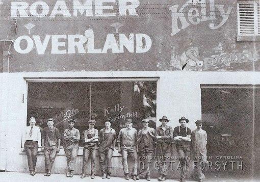 Standard Motor Sales staff, 1932