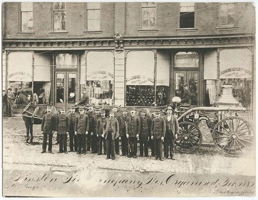 Winston's 1882 La France steamer