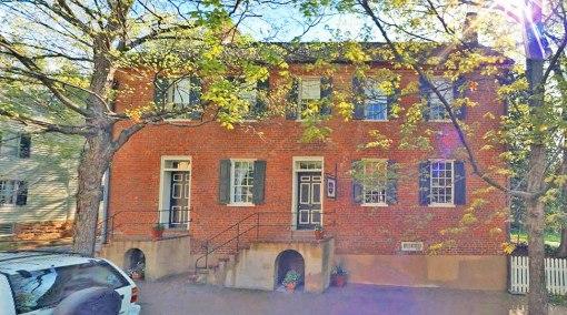 The Augustus T. Zevely Inn on Main Street in Old Salem